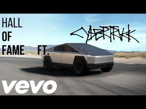 Hall Of Fame Ft Cybertruck | Tesla | Music Video