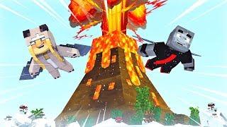 WIR FLIEGEN ÜBER EINEN AKTIVEN VULKAN! ✿ Minecraft [Deutsch/HD]
