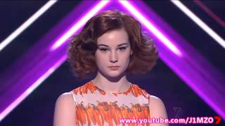 Bella Ferraro - X Factor Australia 2012 - Week 7 Live Shows