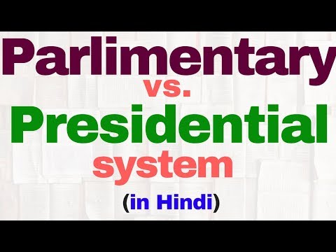 Parliamentary vs  Presidential system of government | Indian polity by | IAS | SSC CGL