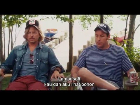 Grown Ups - Rob's Daughter coming to lake house (indonesian subtitle)