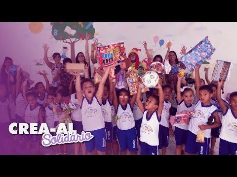 Crea-AL Solidário #2: Dia das Crianças