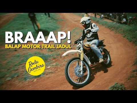 Balap Motor Trail Jadul Tea And Toast Cup 2019 (VLOG)