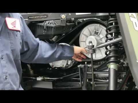 How to change a belt on a 2015 Polaris Ranger 900 XP
