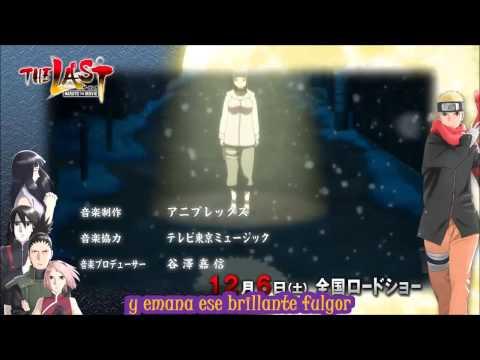Nuevo opening The last Naruto the movie subtitulado