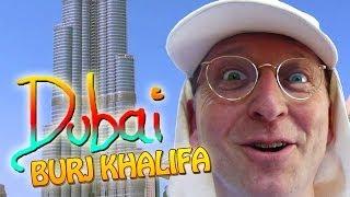 Dubai Burj Khalifa, das höchste Gebäude der Welt