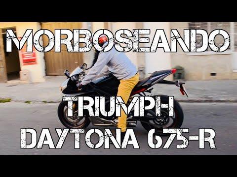MORBOSENDO TRIUMPH DAYTONA -R #FULLGASS