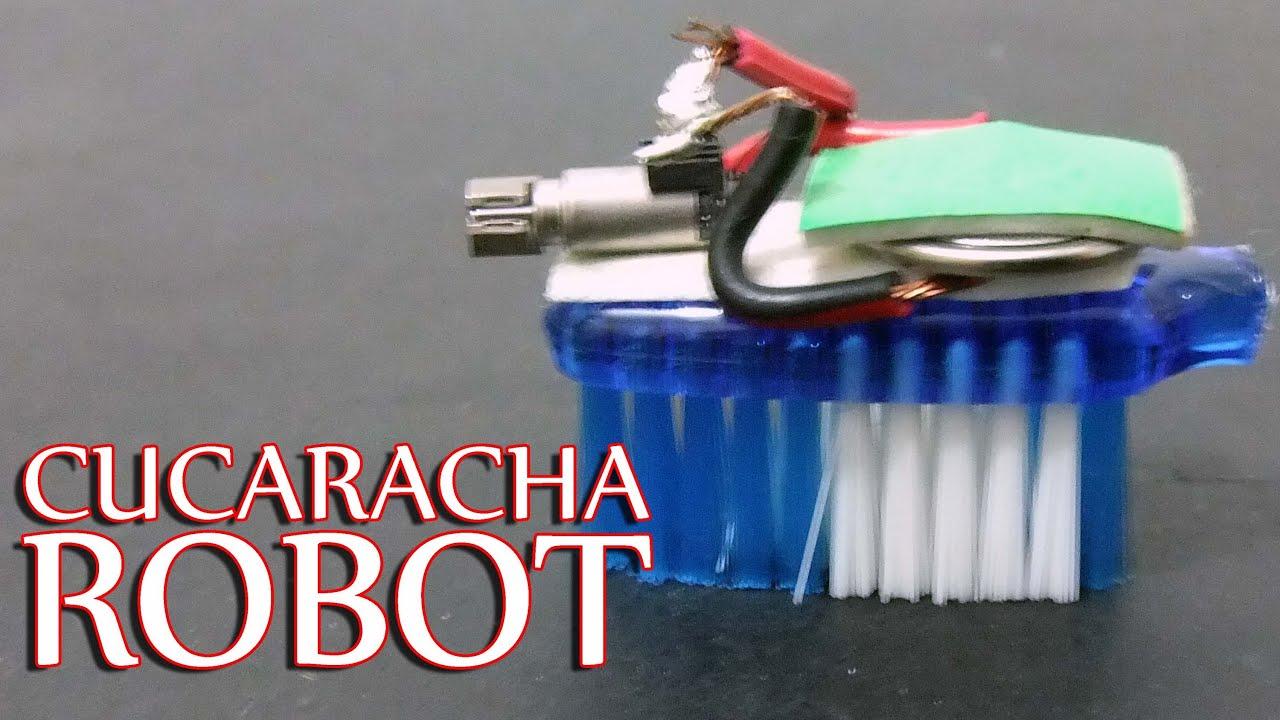 Como hacer una cucaracha robot - Les presento a Santafecoronda - YouTube