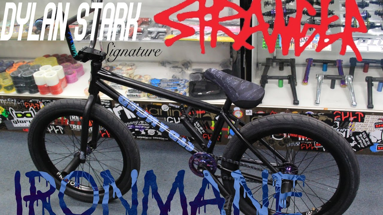 BUILDING UP MY SIGNATURE BMX FRAME THE IRONMANE | DYLAN STARK ...