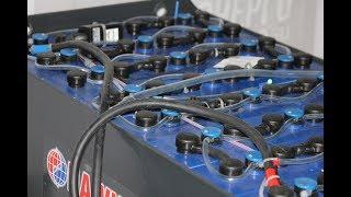 Мониторинг (контроль работы) тяговой аккумуляторной батареи (АКБ)