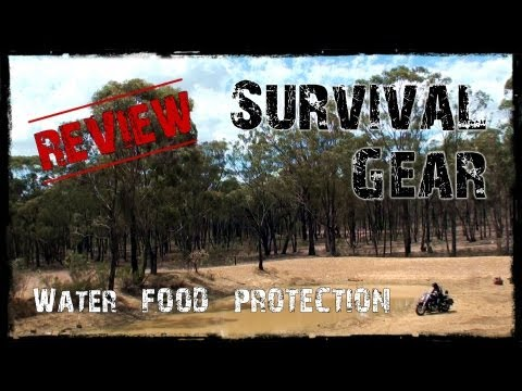 Survival Gear - Food - Water - Protection