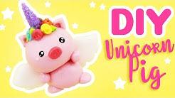 DIY UNICORN Pig Charm!   KAWAII FRIDAY