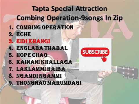 TAPTA SPECIAL ATTRACTION COMBING OPERATION 9SONGS IN ZIP