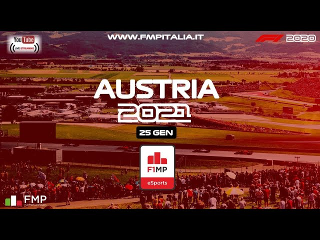 F1MP | #11 AUSTRIA GRAND PRIX | FMP ITALIA