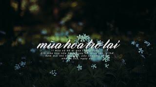 Lyrics || Mùa Hoa Trở Lại || Khánh Linh / Vũ Minh Tâm