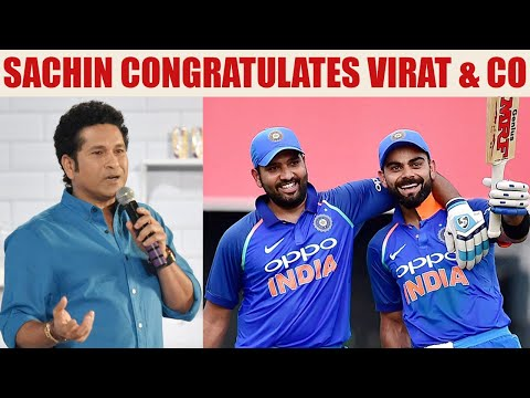 Virat Kohli & co. dominates Lanka in ODI series, Tendulkar congratulates Men in Blue | Oneindia News