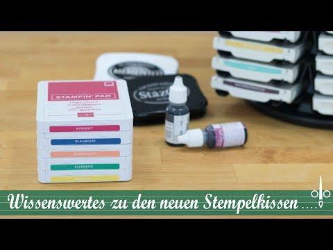 Neue Stemeplkissen - Das musst Du wissen | Stempelklasse #21 | Produktwissen | Stampin' Up!