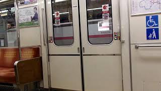 【ドア開閉】大阪市営地下鉄25系 扉開閉