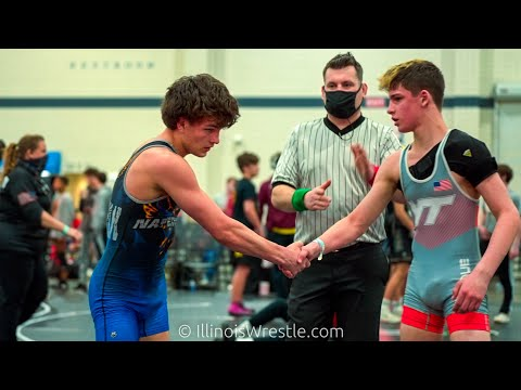 117 – Maddox McArther of Empire Gold over Ethan Olson of Illinois CornStars by Dec 7–0