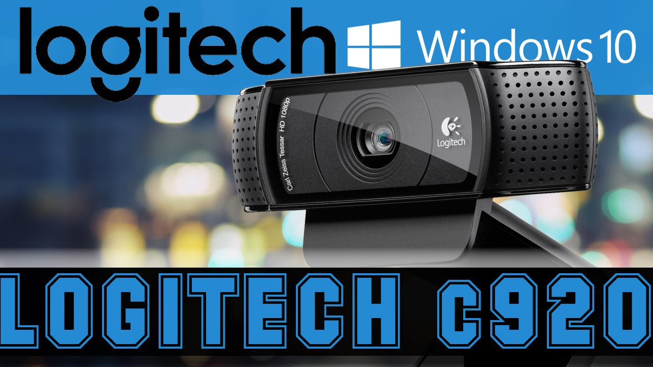 How to Install Logitech C920 HD Webcam on Windows 10