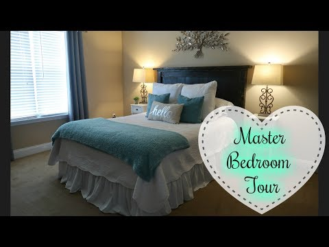 HOUSE TOUR PART 1 - MASTER BEDROOM | RUSTIC GLAM DECOR