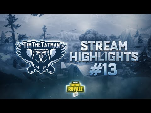 Fortnite Battle Royale Highlights #13 | TimTheTatman Random Duos Ep.2