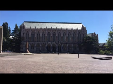 University Of Washington Campus Tour Youtube