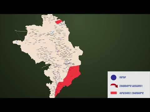 Տեսանյութ. Որ հատվածներում են ընթանում մարտերը և որտեղ է վերահսկում հակառակորդը.ինտերակտիվ քարտեզ