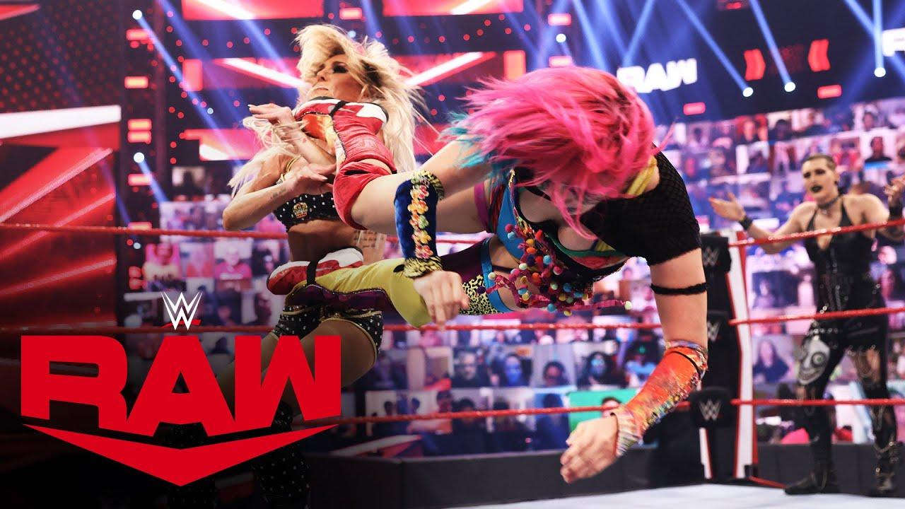 Asuka & Nikki Cross vs. Charlotte Flair & Rhea Ripley: Raw, June 7, 2021