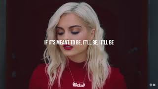 Bebe Rexha - Meant to Be (feat. Florida Georgia Line) (Lyrics)