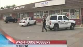 Beaumont police investigate washateria robbery