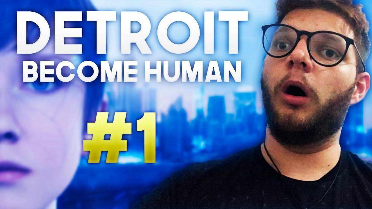 DETROIT BECOME HUMAN - O Início de Gameplay, em Português PT BR