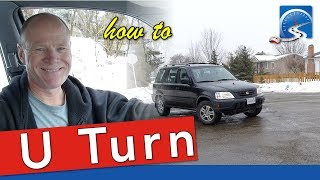 How to Do A U-Turn to Pass a Road Test | Step-by-Step Instructions