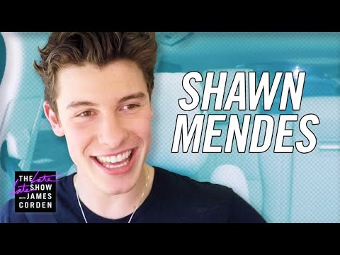 Shawn Mendes Carpool Karaoke — #LateLateShawn