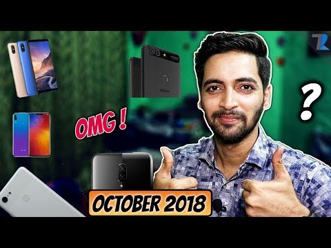 Top Upcoming Smartphones To Launch In India October 2018