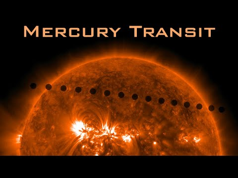 Mercury Transit the Sun 2019  [REPLAY] SPEED 5X