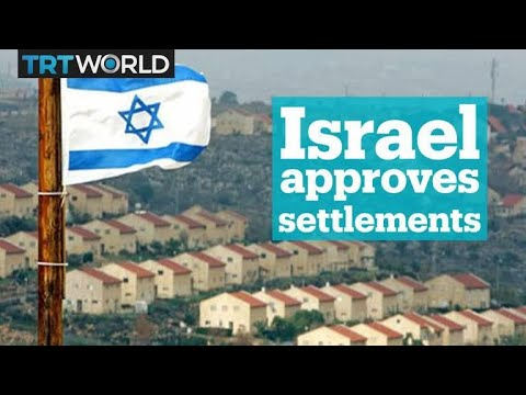 Israel has approved more than 1,200 new settlement homes in the occupied West Bank