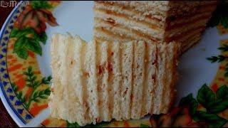 Торт на сковороде быстро и вкусно!