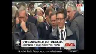 Prince Charles Visits Pictou, Nova Scotia
