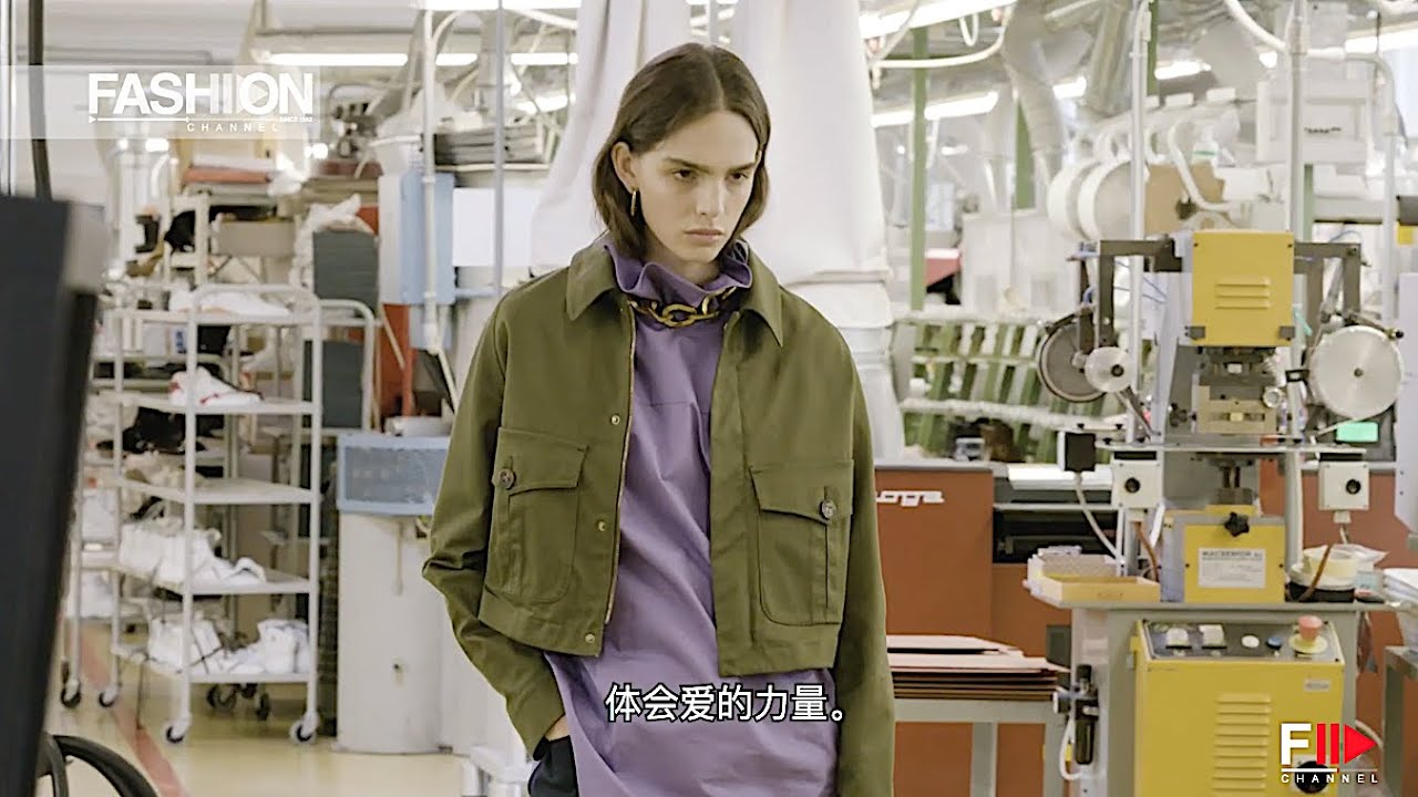 Inside TOD'S Studio MAME KUROGOUCHI for TOD'S Adv SS 2021 Chinese subtitles - Fashion Channel