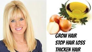 Hair GROWTH Oil | STOP Hair LOSS & Hair THINNING!