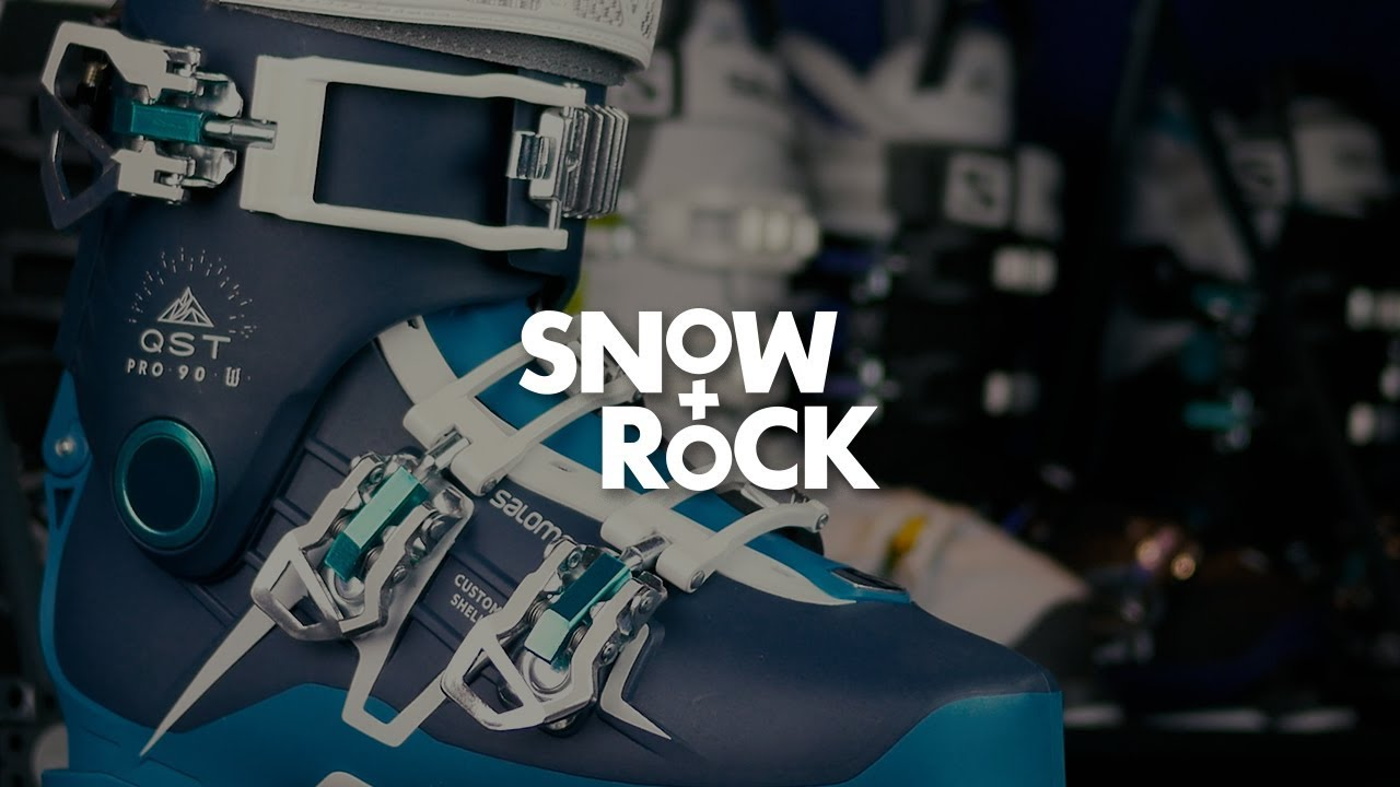 Salomon QST Pro 90 W 2018 Ski Boot Overview by Snow+Rock