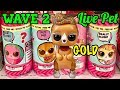 NEW LOL Surprise LIVE Pets WAVE 2 Unbox   GOLD Found! Interactive Pet - The Pony, V.R.Hop, KittyDoll