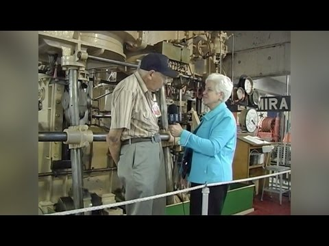 Sand Pebbles Steam Engine History and Demonstration