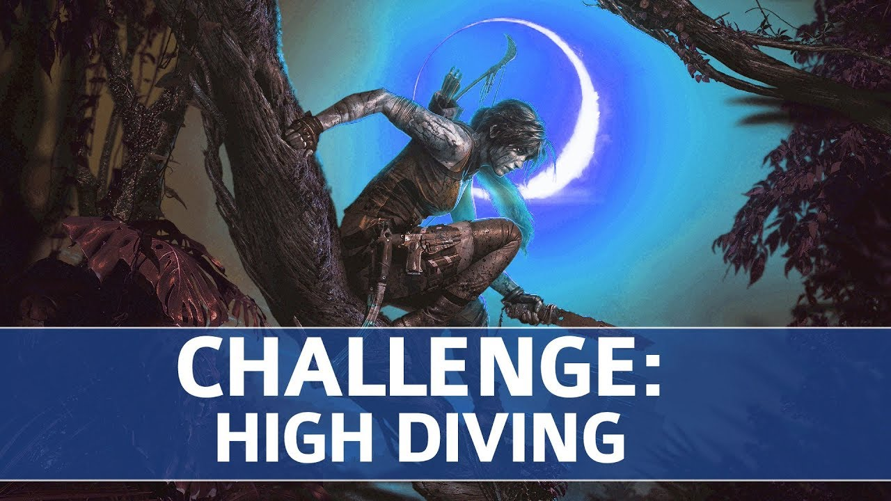 Shadow of the Tomb Raider - The Hidden City Challenges: High Diving (4 Swan  Dive Locations)