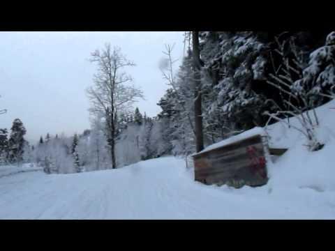 Frognerseteren - sled ride
