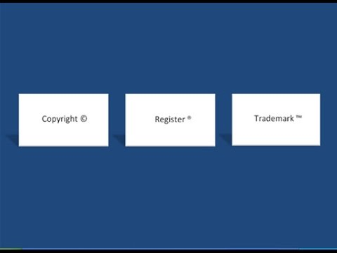 Learn Ms Word Easily How To Create A Symbol Copyright Register