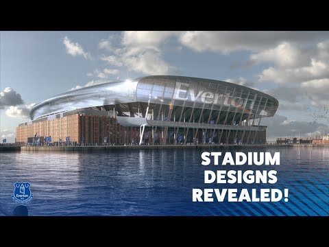 Revealed Everton S New Stadium Design Plans Youtube