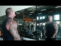 Rich Piana 100 Rep Side Lat Raises ||Fc BodyBuilding
