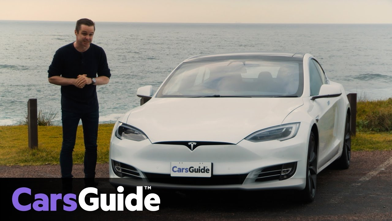 Tesla Model S P100D 2017 review  road test video  YouTube